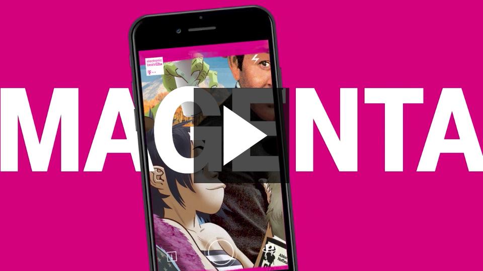 Saatchi & Saatchi London 'Unleash' magenta for Deutsche Telekom